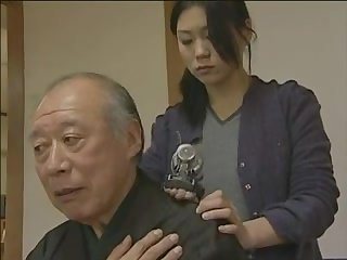 Japanese porn older males are serviced by young frivolous sluts