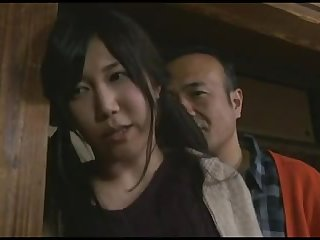 Sweet and young Japanese hustler is having her vagina licked by master