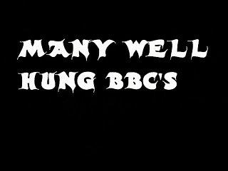 Mature Wife & 2 BBC