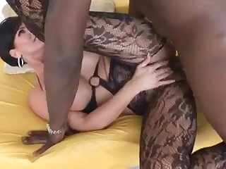 hot milf with big titts gets fucked by big black dick