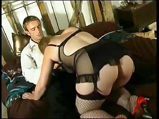 Порно кастинг зрелой толстушки с жёстким трахом