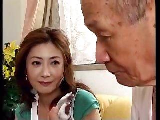 Японский порно фильм про старого деда