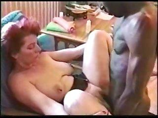 Ретро секс негра и его развратной любовницы