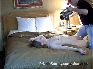Секс кастинг зрелой похотливой дамочки
