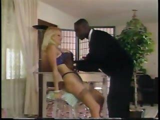 Ретро секс зрелой белой развратницы  её чёрного друга